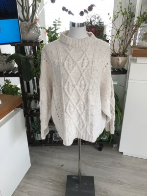 Fleece Jumper natural white