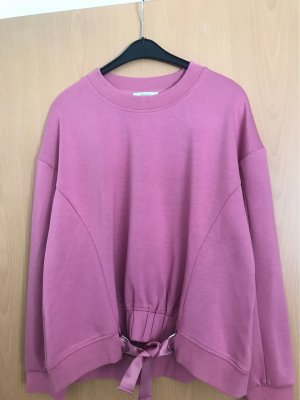 Ipekyol Long Sweater rose-gold-coloured cotton