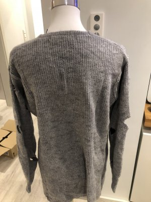 Pull polaire beige-gris