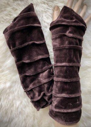 Handmade Puño marrón oscuro Terciopelo