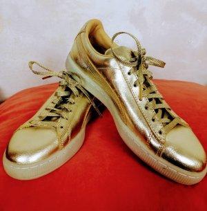 Puma 50th Anniversary - Suede Classic 50th Gold 40.5 New