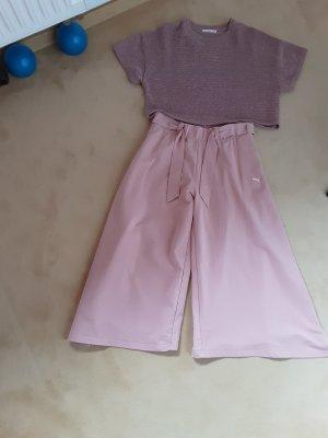 Puma Pantalone a zampa d'elefante rosa antico