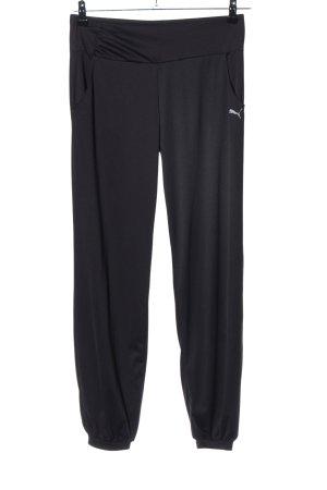 Puma Baggy Pants schwarz-weiß sportlicher Stil
