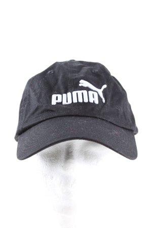 Puma Berretto da baseball nero-bianco stile casual