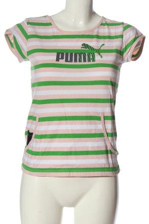 Puma Basic-Shirt Allover-Druck Casual-Look
