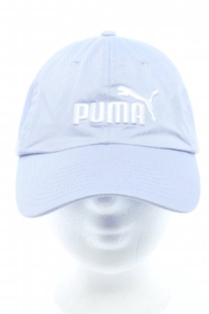 Puma Baseball Cap blue-white embroidered lettering casual look