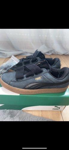 Puma Zapatos de patinador negro-marrón