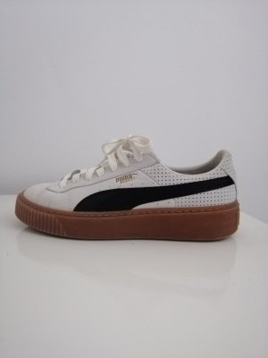 Puma Chaussure skate blanc