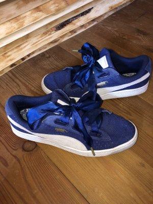 Puma 'Basket Heart Denim' Sneaker