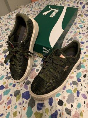 Puma basket olive night 38 sneaker wie neu
