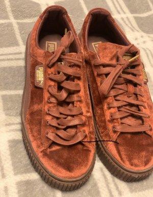 Puma Zapatos brogue burdeos