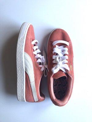 Puma Basket Sneaker Pink Apricot