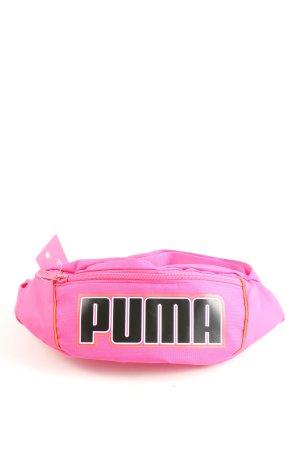 Puma Banane rose style décontracté