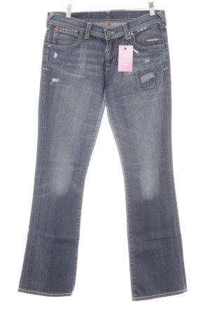 Puma Boot Cut Jeans dunkelblau Casual-Look