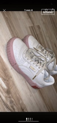 Puma Lace-Up Sneaker rose-gold-coloured-white
