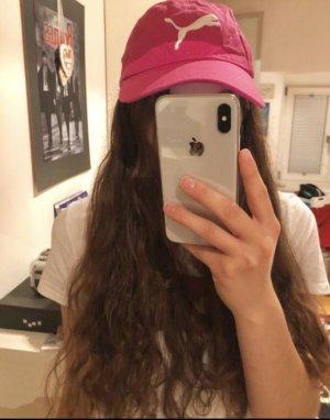 Puma Gorra de béisbol rosa