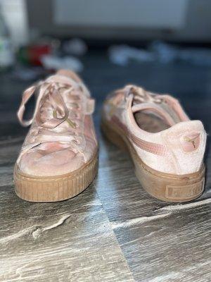 Puma Chaussure skate rose-rose