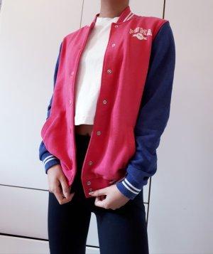 Puma Blouson universitaire rose-bleu