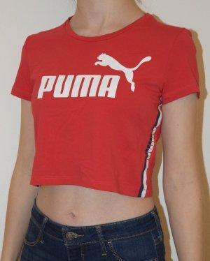 Puma Sporttop baksteenrood Katoen