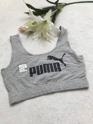 Puma Sportshirt zwart-grijs