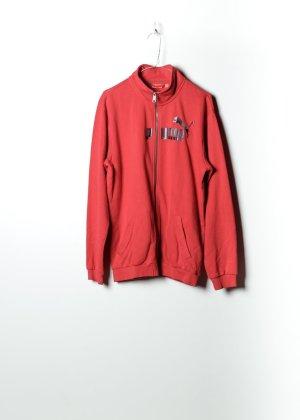 Puma Damen Kapuzenpullover in Rot