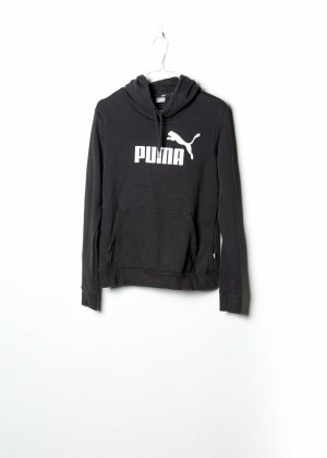 Puma Damen Kapuzenpullover in Schwarz