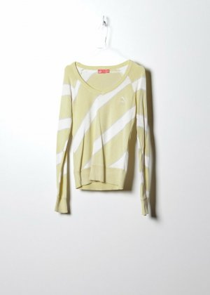 Puma Damen Sweatshirt in Gelb