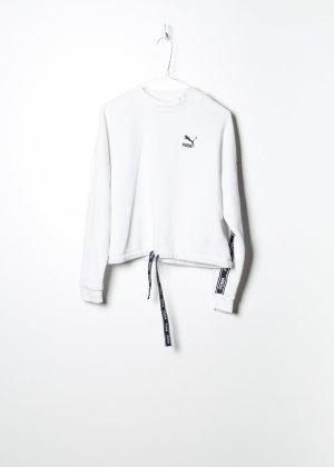Puma Damen Sweatshirt in Weiß