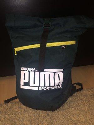 Puma Sac à dos vert foncé-jaune