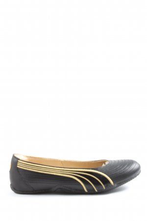Puma Foldable Ballet Flats black-primrose striped pattern casual look
