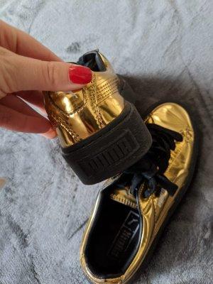 Puma Fenty Schuhe Gold