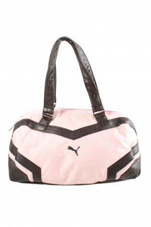 Puma Sporttas roze-bruin casual uitstraling
