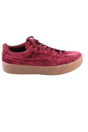 Puma High Top Sneaker rot Casual-Look