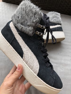 Puma High Top Sneaker black