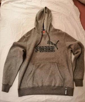 Puma Hooded Sweatshirt black-grey