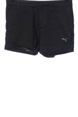 Puma Krótkie szorty czarny W stylu casual