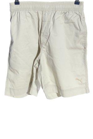Puma Short moulant blanc cassé style décontracté