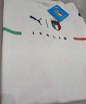 Puma Sports Shirt white-dark blue polyester