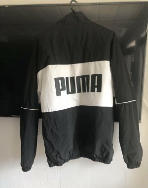 Puma Raincoat white-black