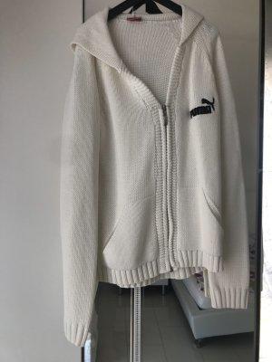 Puma Jacke Weiß Creme