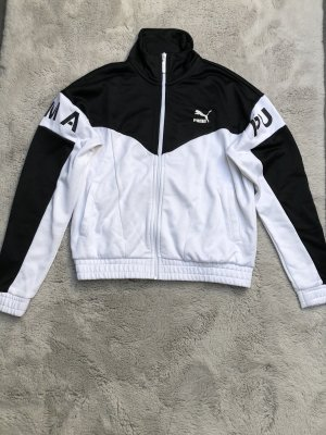 Puma Kurtka sportowa czarny-biały