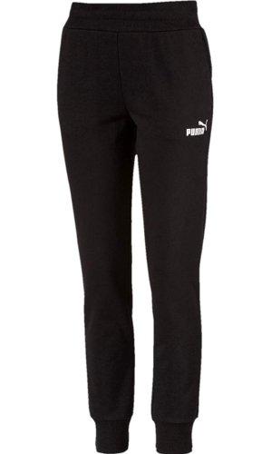 Puma Pantalon de jogging blanc-noir