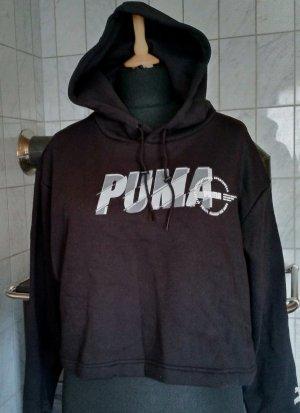 Puma Hooded Shirt white-black