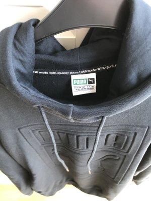Puma Hooded Sweatshirt black mixture fibre