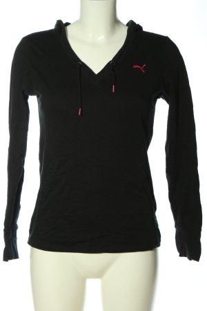 Puma Kapuzenshirt schwarz Casual-Look