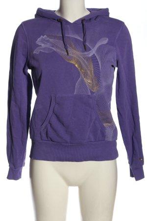 Puma Kapuzensweatshirt lila Casual-Look