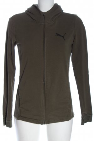 Puma Kapuzensweatshirt khaki Casual-Look