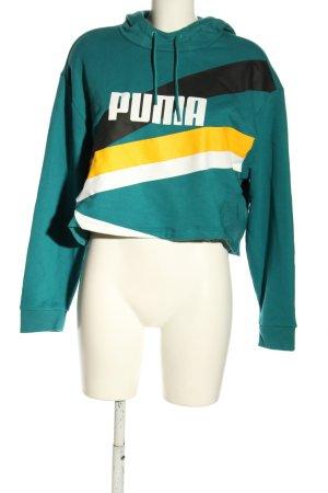 Puma Kapuzensweatshirt Motivdruck sportlicher Stil