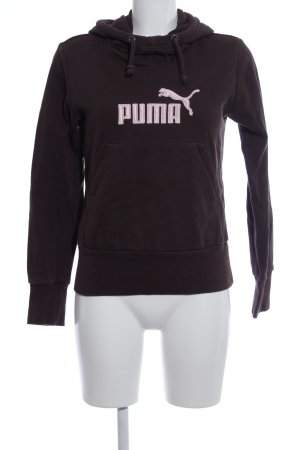 Puma Kapuzensweatshirt braun-pink Casual-Look