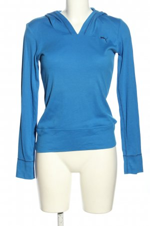 Puma Kapuzensweatshirt blau-schwarz Casual-Look